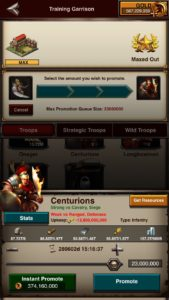 Promote T5 Game of War Fire Age GoW