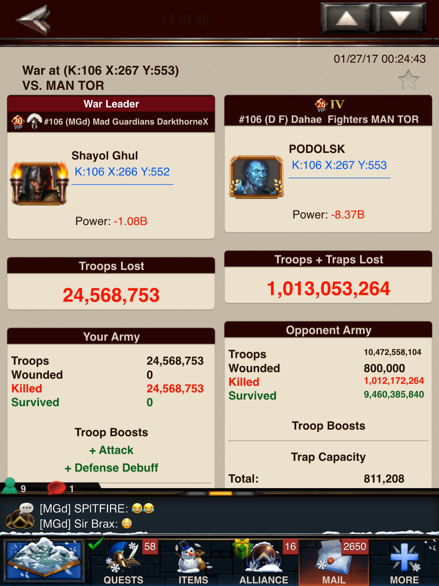 Wild T5 Troop Stats and Strength | Blog | Game of War Real Tips