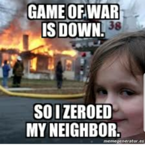 Game of War Down