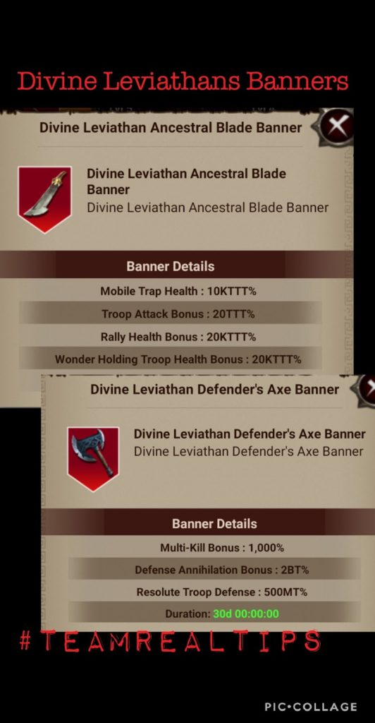 GoW Leviathan Banners