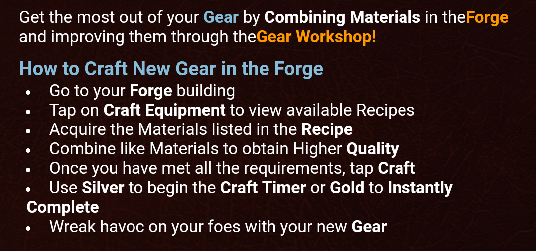 Forge Quick Tips