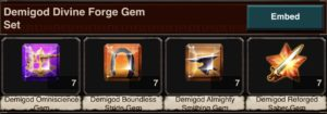 Forge Gem Set