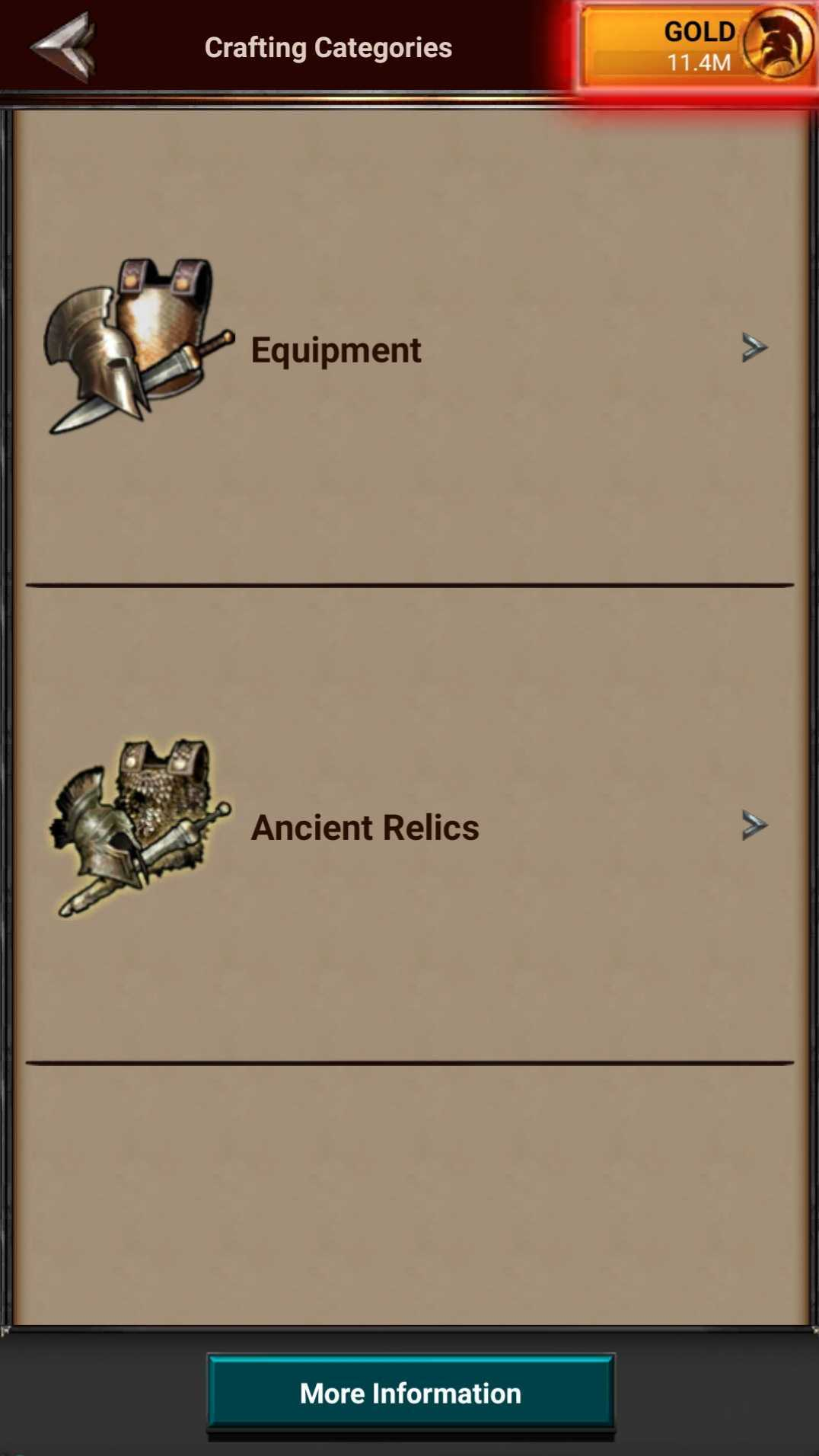 Crafting Categories