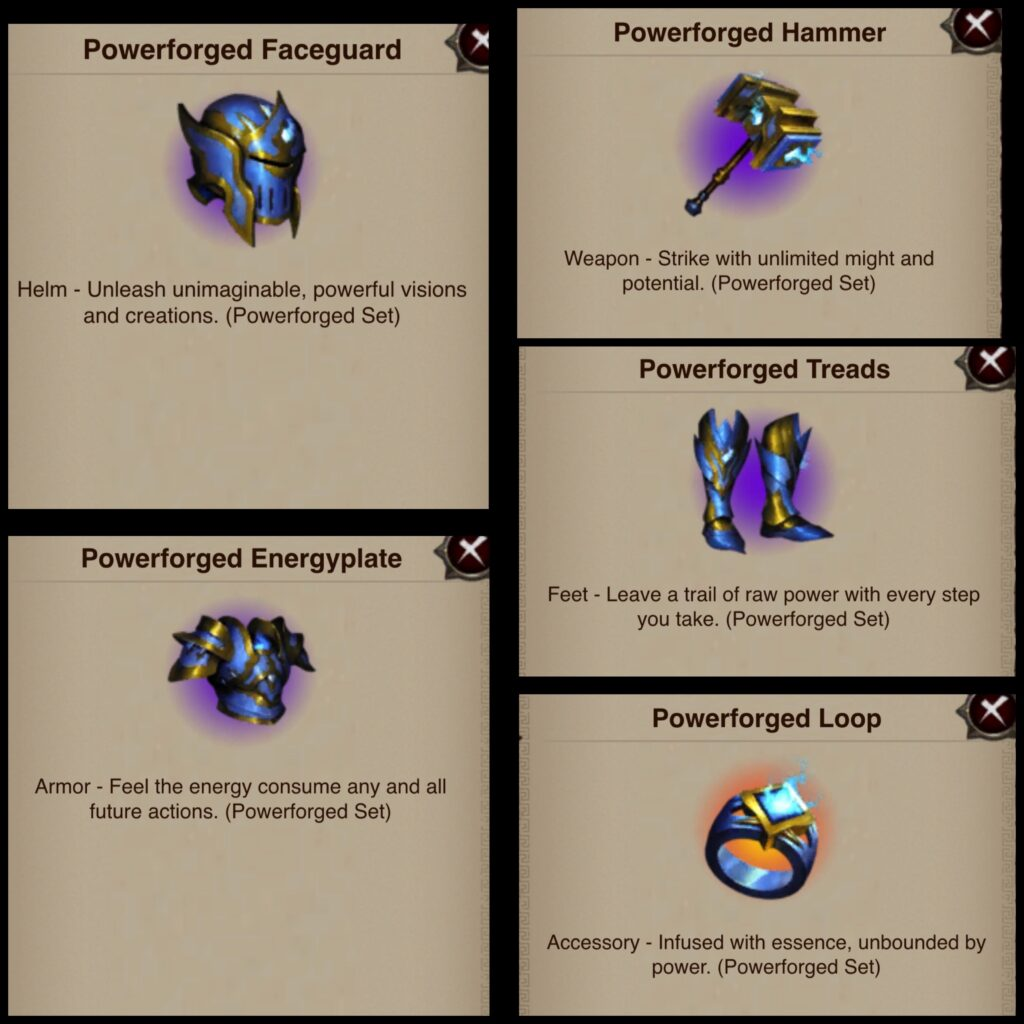 Powerforged Gear Set