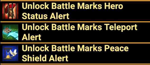 Battle Mark Special Features