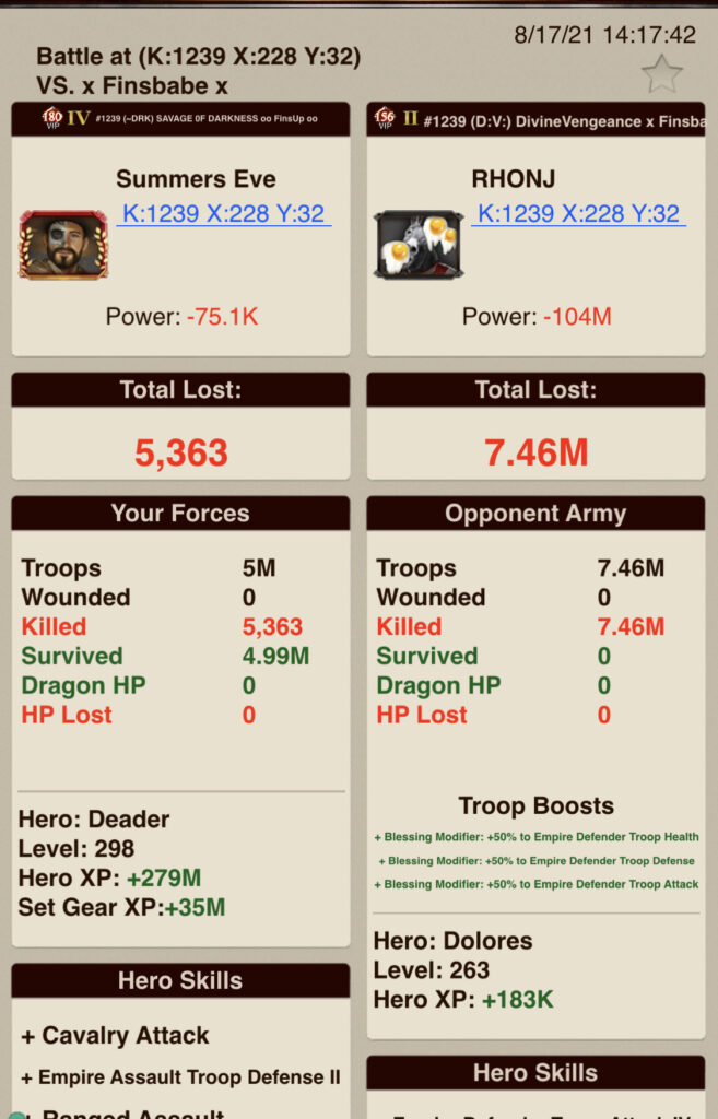 5_T7 Inf vs. T7 Inf_7.46M Troops Dfnd