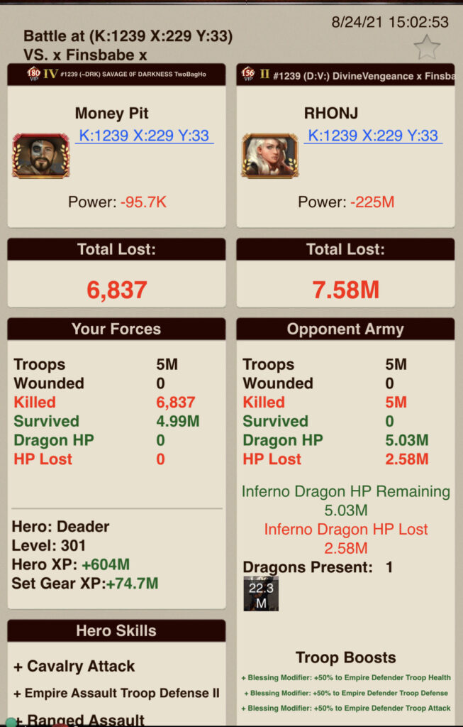 A5_T7 v T7 + Inferno_Healthy Dragon + No Growth Skilled