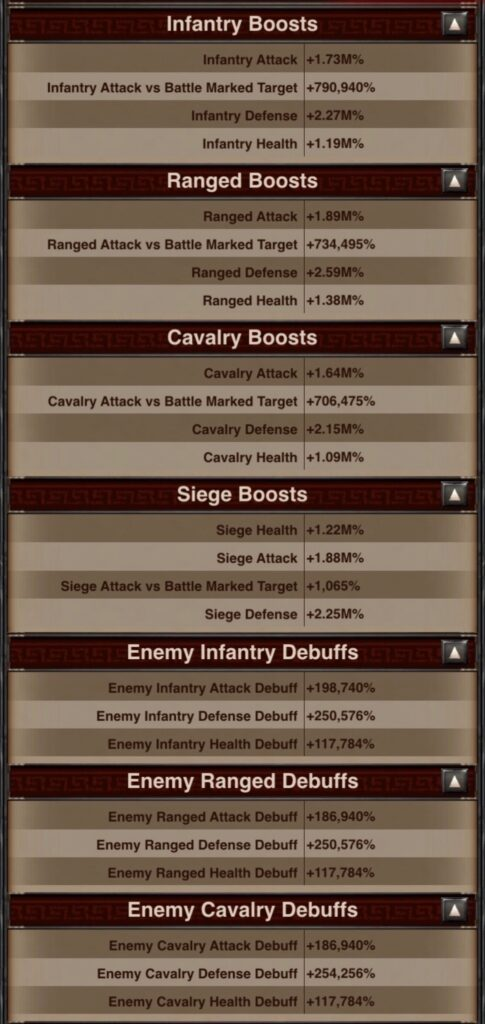 Second Defender Type and Siege Stats